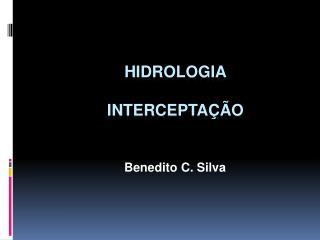 Hidrologia Intercepta��o