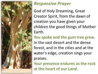 Responsive Prayer