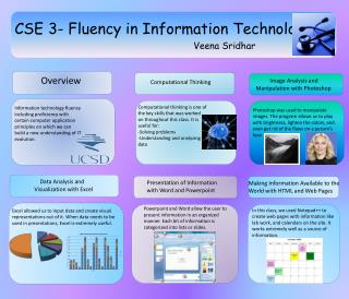 CSE 3- Fluency in Information Technology