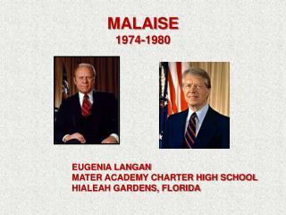 MALAISE 1974-1980