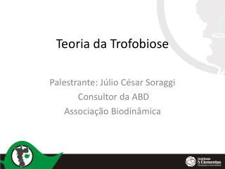 Teoria da Trofobiose