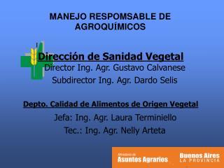 MANEJO  RESPOMSABLE  DE AGROQU � MICOS