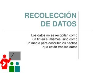 RECOLECCI N  DE DATOS