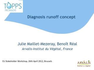 Diagnosis runoff  concept