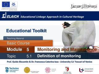 Educational Linkage Approach In Cultural Heritage
