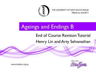 Ageings  and Endings B
