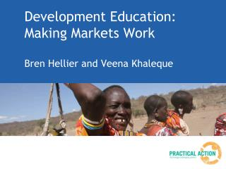 Development Education: Making Markets Work
