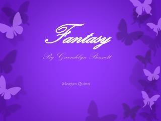 Fantasy By Gwendolyn Bennett