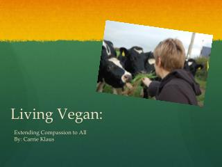 Living Vegan:
