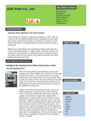 UGA Press Co., Ltd.