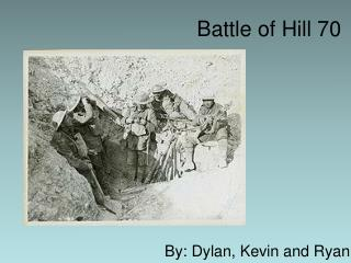 Battle of Hill 70