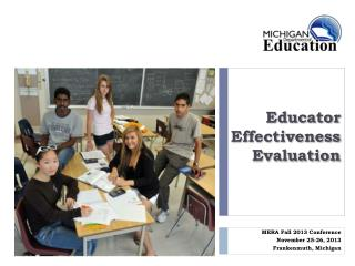 Educator Effectiveness Evaluation