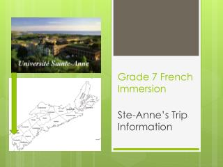 Grade 7 French Immersion