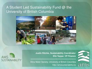 A Student Led Sustainability Fund @ the University of British Columbia