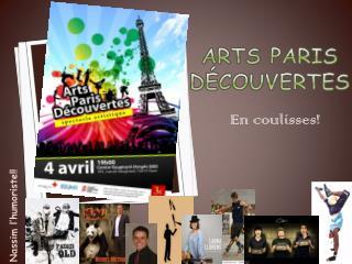 Arts Paris Découvertes