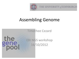 Assembling Genome