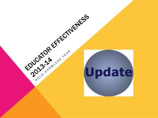 Educator Effectiveness 2013-14