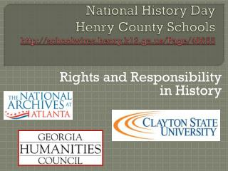 National History Day Henry County Schools http://schoolwires.henry.k12.ga.us/Page/48655