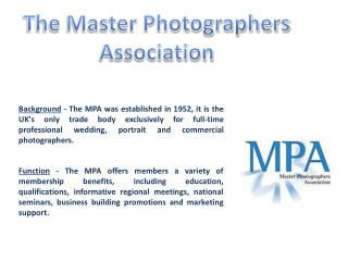 The Master Photographers Association