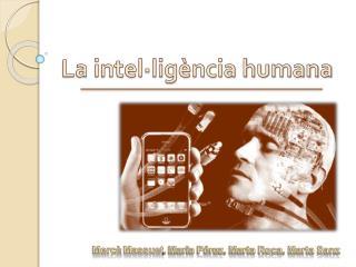 La intel�lig�ncia humana