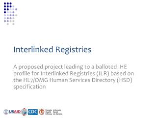 Interlinked Registries