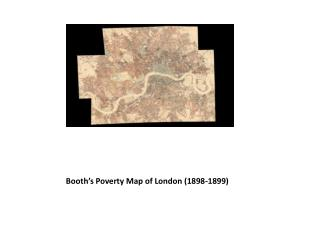 Booth's Poverty Map of London (1898-1899)