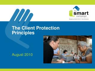The Client Protection Principles