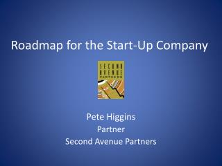 Roadmap for the Start-Up Company