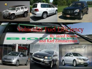 Vehicular Fuel Efficiency