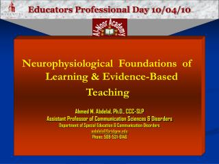 Educators Professional Day  10/04/10