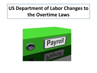 Overtime   Fair Labor Standards Act