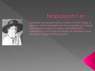 Napoléon I er