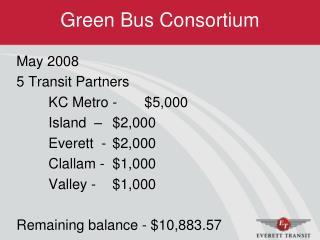 Green Bus Consortium