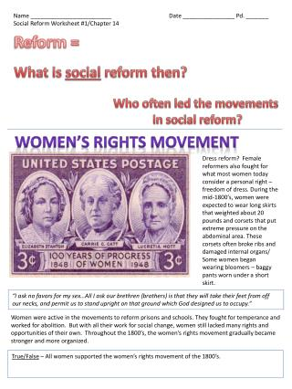 Reform =