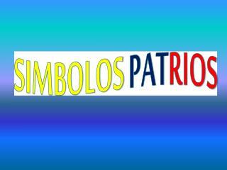 SIMBOLOS PAT RIOS
