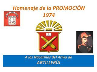 Homenaje de la PROMOCIÓN 1974