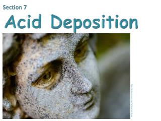 Section 7  Acid Deposition