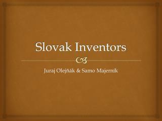 Slovak Inventors