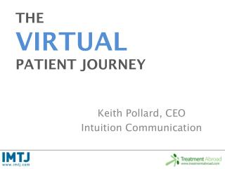 THE  VIRTUAL PATIENT JOURNEY