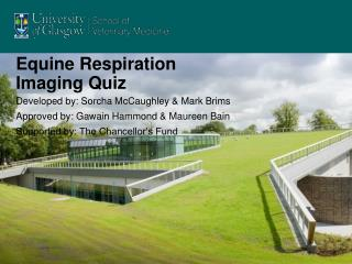 Equine Respiration Imaging Quiz
