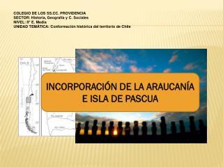 COLEGIO DE LOS SS.CC. PROVIDENCIA SECTOR: Historia, Geografía y C. Sociales NIVEL: II° E. Media