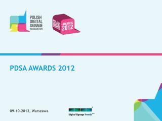 PDSA AWARDS 2012
