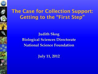 """The Case for Collection Support: Getting to the """"First Step"""""""