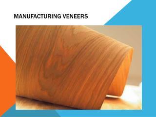 Manufacturing Veneers