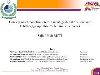 Sajid Ullah BUTT