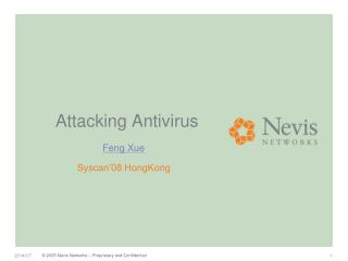 Attacking Antivirus