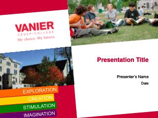 Presentation Title Presenter's Name Date