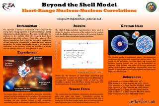 Beyond the Shell Model Short-Range  Nucleon-Nucleon Correlations