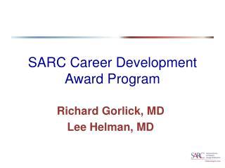 SARC Career Development Award Program