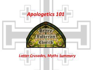 Apologetics 101